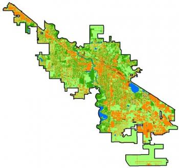 2013 Urban Tree Canopy Assessment of Goshen, IN